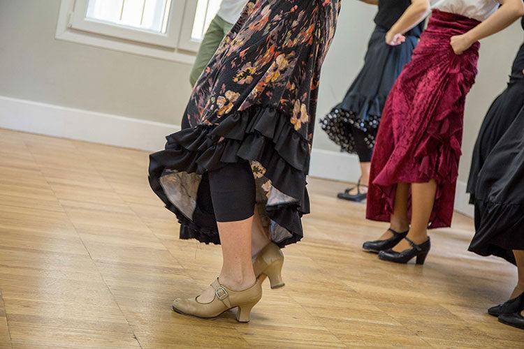carmen moreno en escuela danza victoria artillo